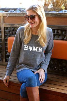 Adorable state sweatshirt