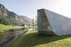 Completed in 2014 in Bergen, Norway. Images by Nils Petter Dale, Jiri Havran . The Norwegian Public Roads Administration has been commissioned by the Norwegian Parliament and Government to develop the National Tourist Routes,...
