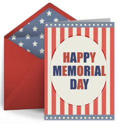 Free eCards for Memorial Day from Punchbowl