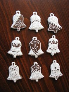 klikni pro další 72/255 Royal Icing, Christmas Cookies, Gingerbread, Crochet Earrings, Xmas, Cupcakes, Album, Holiday Cookies, Decorated Cookies