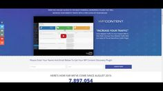 Watch How WP Content Discovery Can Help Your Website Get Tons Of Free Website Traffic - https://www.wpcontentdiscovery.com/watch-wp-content-discovery-can-help-website-get-tons-free-website-traffic