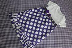 TCU Onesie Dress Game Day Football (Mom and I need to make this!) etsy.com ThePurpleFrog Store