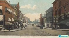 Vintage Canton, OH...I live here but I wish I was alive when it looked like this...