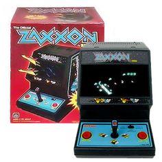 Coleco Mini Zaxxon Arcade Game