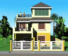 Signed and Sealed House Plan for New House Construction, Building Permit or Housing Loan Requirement 3 Storey House Design, Two Story House Design, Bungalow House Design, Model House Plan, House Plans, New House Construction, Craftsman Style Kitchens, House Deck, Minimalist House Design