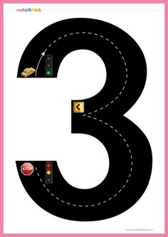 Road Numbers Math training game is giving to help children to understand the way to write numbers up to By using our Pre-K Free printable Road Numbers game, they will learn how to trace each digit from 0 to Tens And Ones Worksheets, Letter Worksheets For Preschool, Art Worksheets, Number Worksheets, Writing Activities For Preschoolers, Kindergarten Math Activities, Math Activities For Kids, Teaching Numbers, Numbers Preschool