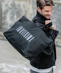 felkod(フィルコッド)の「mko6386-Logo Canvas Tote Bag バッグ(トートバッグ)」 ブラック