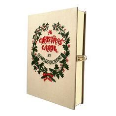 A Christmas carol clutch