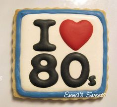 80's cookie
