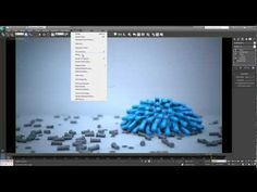 Coll video about M cloth in 3ds Max 2013