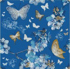 Butterflies and Flowers Cross Stitch Pattern