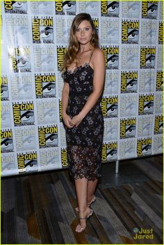 Aly Michalka at the San Diego Comic-Con 2016