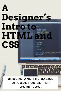 Understand The Basics Of Code For Better Workflow. Learn what is HTML and CSS, basic HTML tags and how to write them, how to gather CSS properties directly from Photoshop or Bohemian Sketch, and how to create CSS rules for layout and images. | Web development | Graphic design | JavaScript  #artanddesign #software #web #ux #afflink
