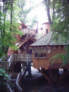 Alnwick Treehouse.