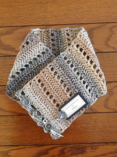 Ravelry: Earth Fairy Button Cowl pattern by Fiber Flux / Jennifer Dickerson