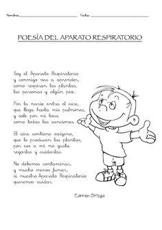 poesía aparato respiratorio para niños