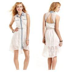 Host Picks   Hi Low Lace Dress