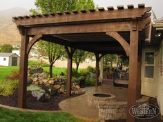 17 Early American Outdoor Shade Structures: Pergolas, Arbors, Gazebos…
