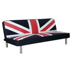 Union Jack Futon has been ordered for Addison's game room