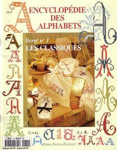 Encyclopedia of Alphabets: The Classics, booklet No 1