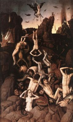 Hell by BOUTS, Dieric the Elder #art