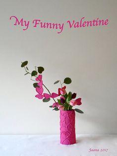 #ikebana #sogetsuikebana #flowerarrangement #valentinesday