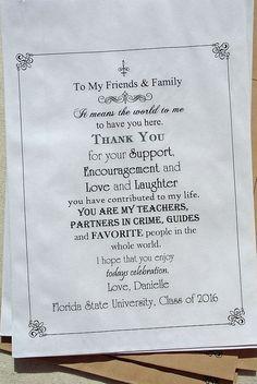 Graduation Favors Graduation Party Favors by abbeyandizziedesigns