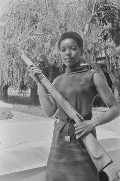 Black Panther, August 31, 1968 — in Marin City, California.  Photo credit: Pirkle Jones / University of California, Santa Cruz