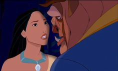 """Pocahontas and the Beast: """"You have to find inner peace within yourself. You are not a monster."""""""