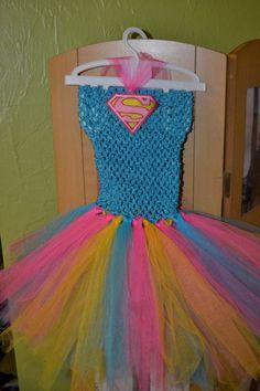 Supergirl superhero tutu dress by chicbabyboutique1 on Etsy, $22.00