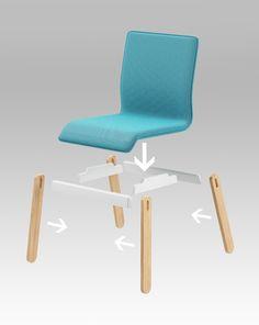 PLUG chair - project 2013 by Redo Design Studio , via Behance