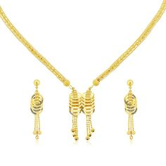 K Gold Necklace #jewelry
