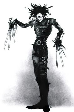 edward scissorhands tattoo - Google Search