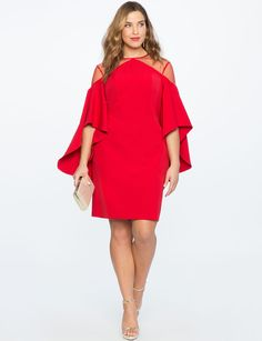 42 Plus Size Party Dresses {with Sleeves} - Plus Size Cocktail Holiday Party Dresses - Plus Size Fashion for Women - Plus Size Cocktail Dresses, Plus Size Party Dresses, Dress Plus Size, Plus Size Outfits, Plus Size Sleeved Dresses, Plus Size Fashion Dresses, Dress Fashion, Fashion Outfits, Party Dresses With Sleeves