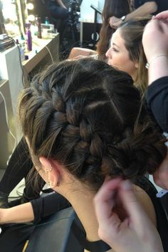Hershesons and Kerastase hair bar at the Vogue Festival