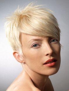 <3 Short Layered Hairstyle