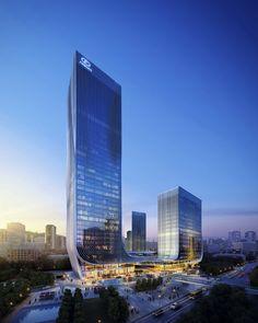 """Fangda Business Headquarters"" Winning Entry / Huasen Architects ""Fangda Business Headquarters"" Winning Entry / Huasen Architects"