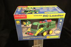 ROKENBOK Building System RC Wireless Front Loader Rare GREEN New in Box #Rokenbok
