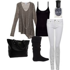 Fall Daytime Fashion, created by jenlovesthis on Polyvore