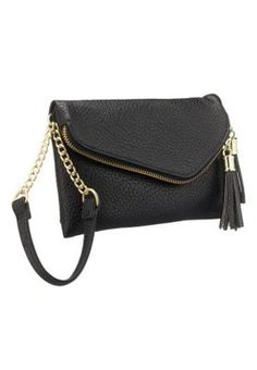 Small zip flap wristlet with tassels (original price, $15.00) available at #Maurices