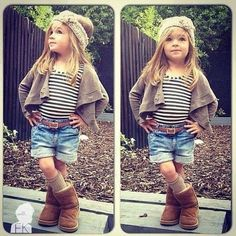 Little girl but cool outfit