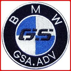 Bmw Gs Adv Adventure Gsa R1150gs R110... Badges, we don't need no stnkin' badges. Except this one of course.