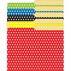 Themes For Classrooms: Polka Dots!