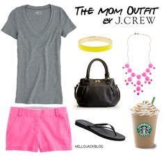 The mom outfit from jcrew. This is half my closet. Basics and solids!! Plus I hate heels