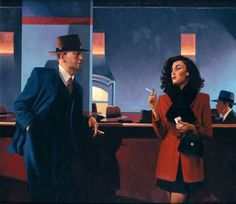 Women Love & Desire Paintings by Jack Vettriano Jack Vettriano is a self-taught Scottish painting born in 1951 who started to paint (watercolor) at his 21st birthday. After submitting two paintings at the Royal Scottish Academys annual exhibition he got aware that his paintings was appreciated by a strict audience and they were sold in the first day. Today he sells his painting to the worldwide : Edinburgh London Hong Kong and New York. Women love sensuality and desire are the main themes of…