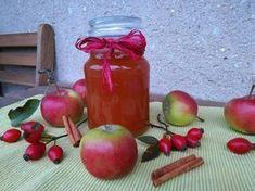 Jablečná marmeláda s šípky Home Canning, Food And Drink, Homemade, Vegetables, Drinks, Drinking, Beverages, Veggies, Home Made