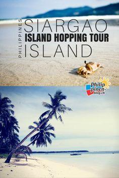 Auf Siargao Island kannst du surfen, relaxen, schnorcheln oder mit einem Boot die umliegenden Inseln erkunden. Gerade dieses Inselhopping kann ich nur wärmstens empfehlen, wenn du die Philippinen besuchst. Die Bilder sprechen für sich. Stell dir einfach vor, dass du im Paradies bist und eine Insel schöner ist, als die andere. Mit einem Fischerboot haben wir dieses Paradiese erkundet und dabei viele schöne Bilder gemacht. Siargao Island, Philippines Travel, Summertime, Journey, Tours, Vacation, Happiness, Collection, Snorkeling