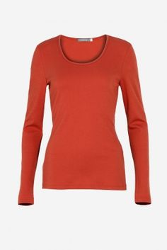 Lana, X-Shirt Anna 1/1 , red clay (orange)