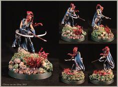 Dark Sword female ranger by Melina-van-der-Werf on DeviantArt