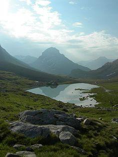 Vanoise National Park in France
